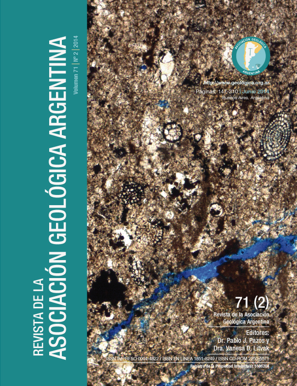 Fotomicrografía de un wackestone radiolarítico del Tithoniano de la Formación Vaca Muerta, Cuenca Neuquina. (25x)  Autor: Dr. Diego Kietzmann