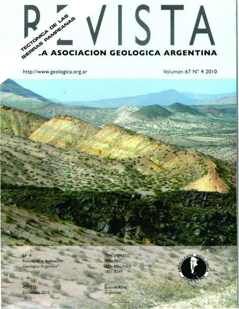 Depósitos marinos jurásico-cretácicos en el sur de la sierra de la Cara Cura. Autor: Diego A. Kietzmann