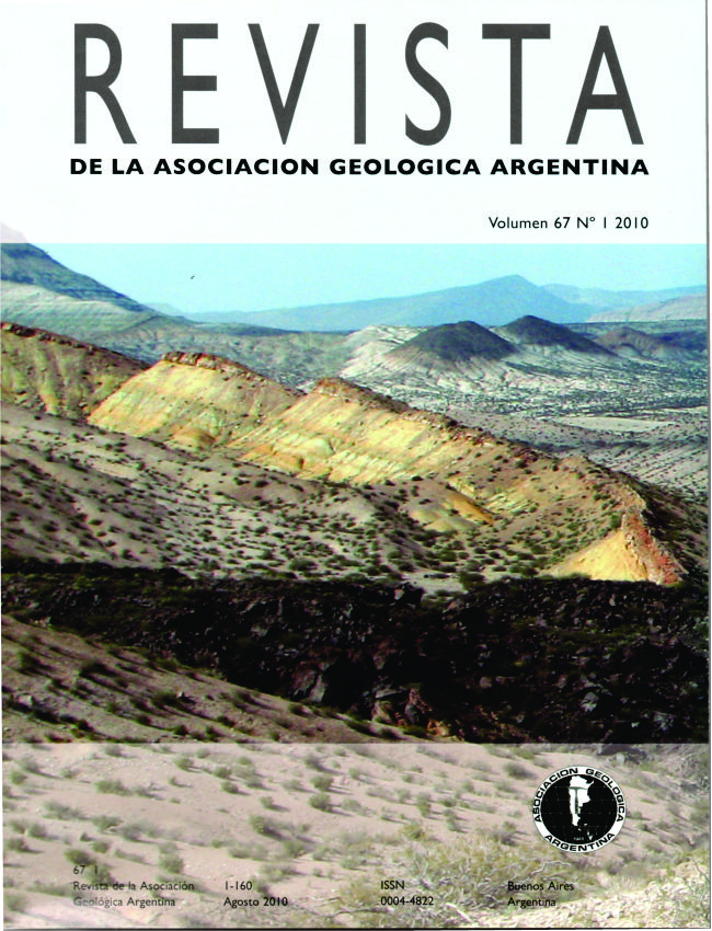 Depósitos marinos jurásico-cretácicos en el sur de la sierra de la Cara Cura  Autor: Diego A. Kietzmann