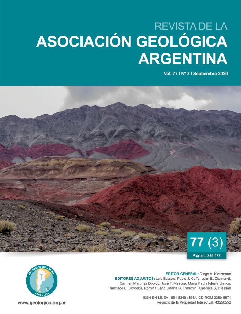 Ver Vol. 77 Núm. 3 (2020): Desarrollos recientes en icnología argentina
