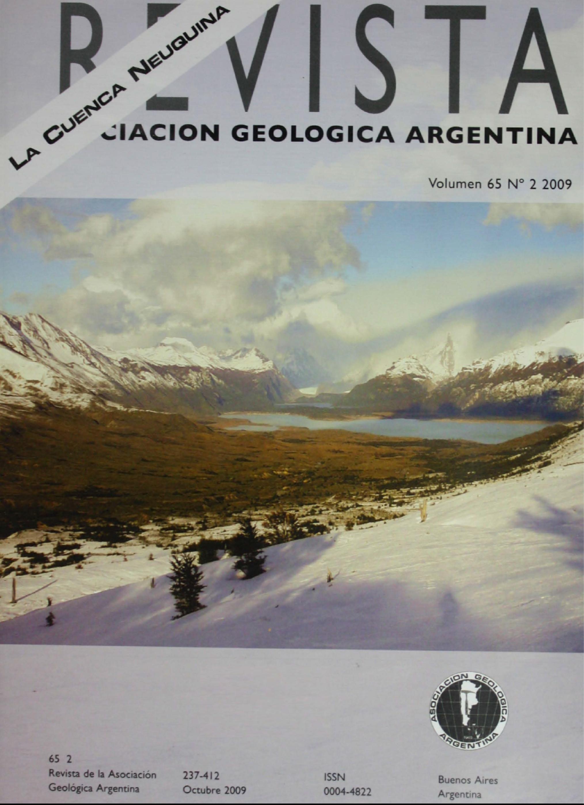 Ver Vol. 65 Núm. 2 (2009): La Cuenca Neuquina