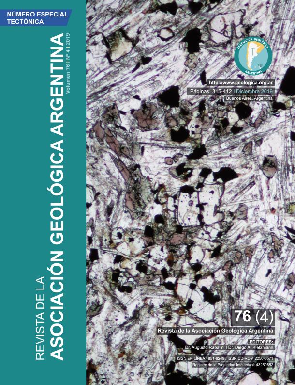 Ver Vol. 76 Núm. 4 (2019): Téctónica