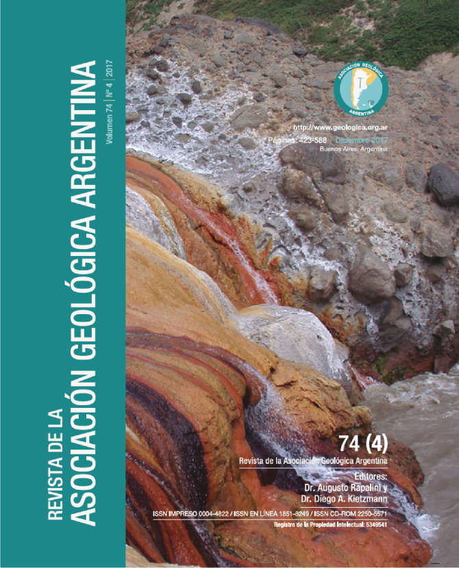 Termas del Borbollón, cabecera del río Diamante, Mendoza  Autor: Dr. José Mescua